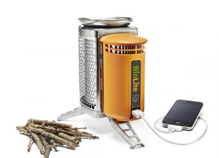 BioLite CampStove - Kocher mit integriertem USB Ladegerät