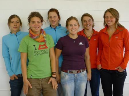Mountain Equipment kleidet das DAV Expeditionskader Frauenteam ein