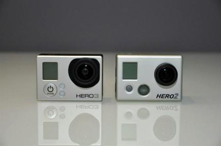 GoPro HERO2 und HERO3 Actionkameras im Vergleich