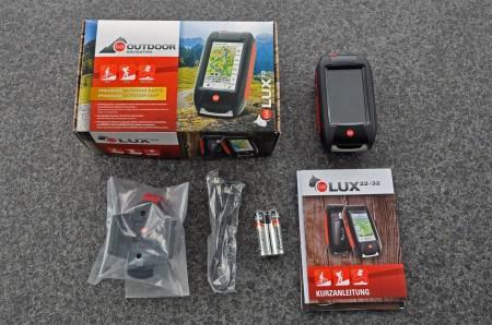 Falk LUX 32 Outdoor Navigationsgerät im Test