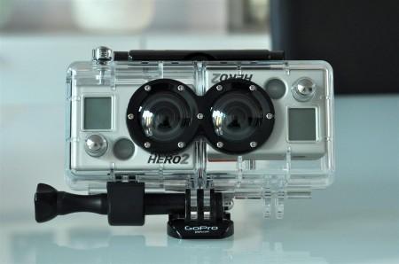 Outdoor Action in 3D - Das GoPro 3D HERO System im Test