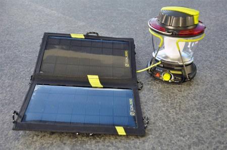 Lighthouse 250 mit dem Nomad 7 Solar Panel