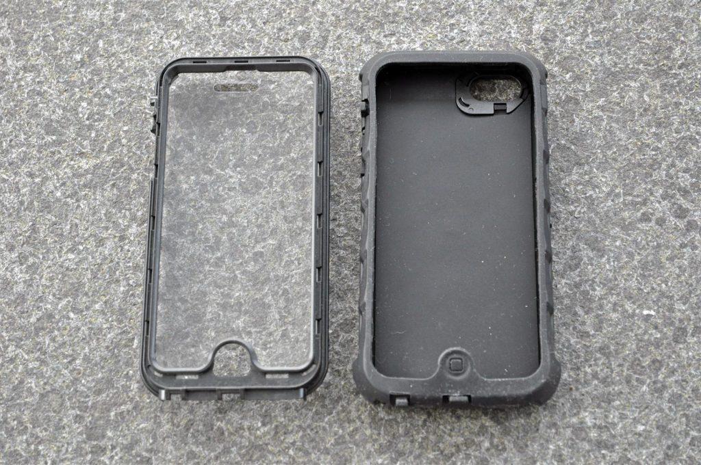 Das Gumdrop Case besteht aus 2 Teilen