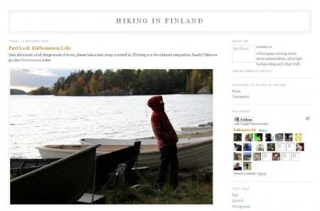 Blog Vorstellung #8 : Hiking in Finland
