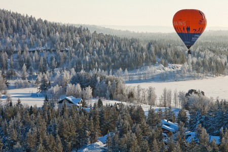 International Hot Air Balloon Adventure in Lappland