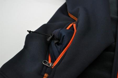 Versteckter Kordelzug in der Tasche verstellbar