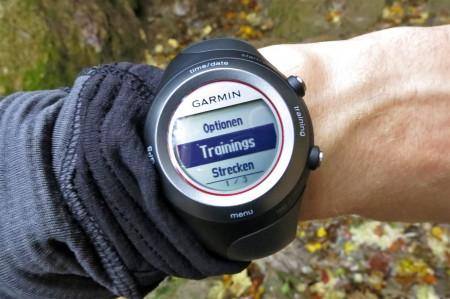 Garmin Forerunner 410 HR - GPS Sportuhr im Test