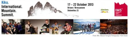International Mountain Summit 2013