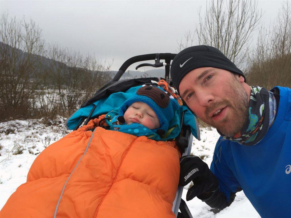 Laufentraining mit Kindern auch im Winter kein Problem