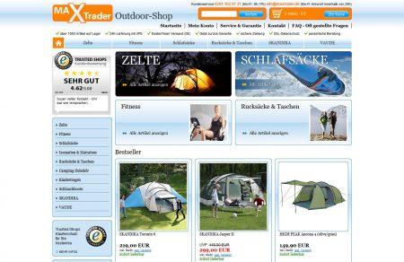 Shop Vorstellung : MAX Trader Outdoor Shop
