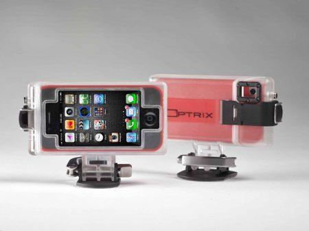 Optrix Gehäuse macht aus dem iPhone eine Actionkamera