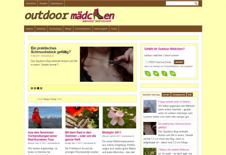 Blog Vorstellung #15 : Outdoor Mädchen