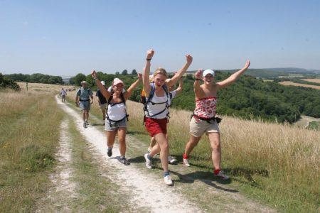 Oxfam Trailwalker - 100 Kilometer für die gute Sache