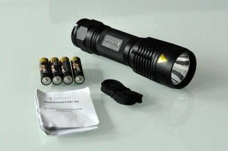 Südlicht Investigator S4 - LED Taschenlampe im Test
