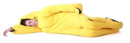 MusucBag - Der Schlafsack mit Armen und Beinen