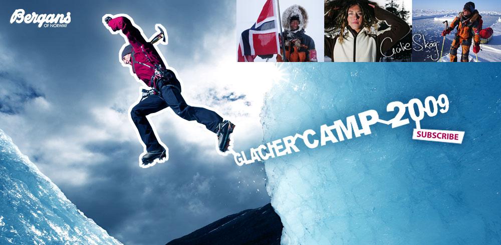 Bergans Glacier Camp 2009