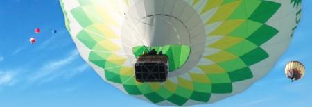 Im Ballon über die Alpen