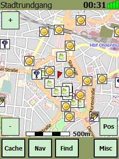 Cachebox - Geocaching Freeware für Windows Mobile