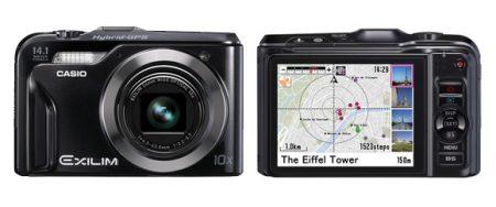 Casio EX-H20G - Digitalkamera mit Positionsbestimmung