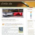 Blog Vorstellung #9 : Climbr.de