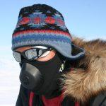ColdAvenger hält Gesicht und Atemluft warm