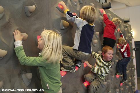 DigiWall - Die Kletterwand für Kinder