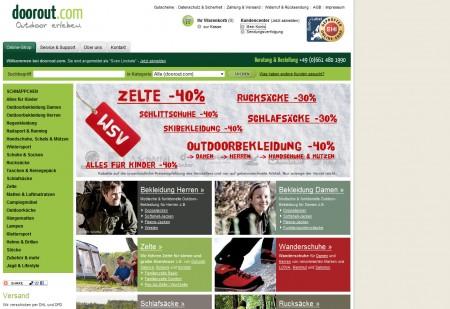 Einkauf bei doorout.com