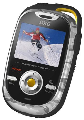 DXG-125V : HD-Camcorder für den Outdoor Einsatz