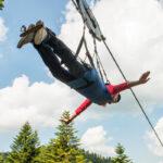 1.300 Meter Seilrutsche in La Bresse (F)
