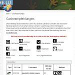 Geocache.lu ist online