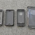 4 Outdoor Schutzhüllen für das iPhone 5 / 5S / SE im Vergleich