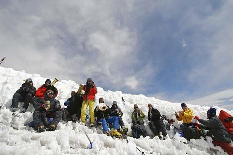 Konzert auf 6.069 Meter Höhe