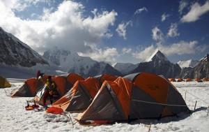 Levpist am Mount Everest - Basecamp