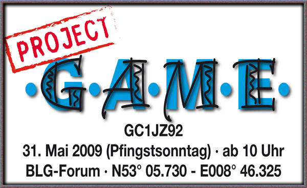 Project ·G·A·M·E· Mega Event