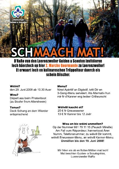 2. Kulinarische Wanderung in Lorentzweiler