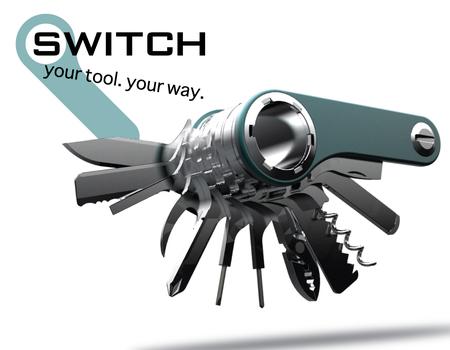 Switch - Multitool selbst zusammenstellen