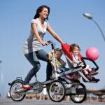 Taga Fahrrad-Kinderwagen-Hybrid