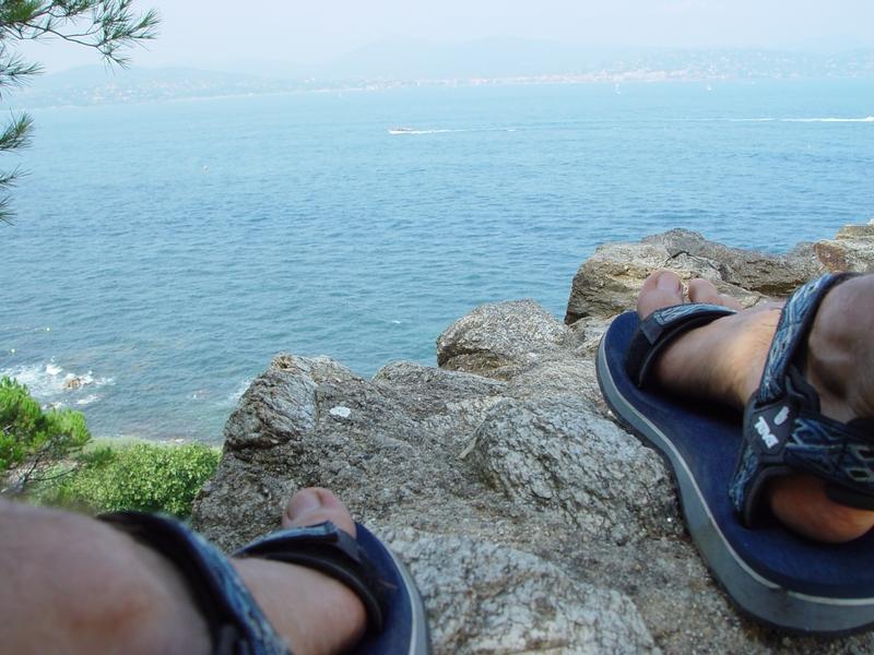 Leichte Schuhe auf Trekking Touren