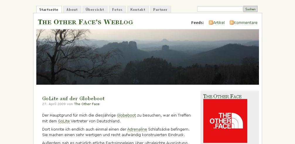 Blog Vorstellung #2 : The Other Face's Weblog
