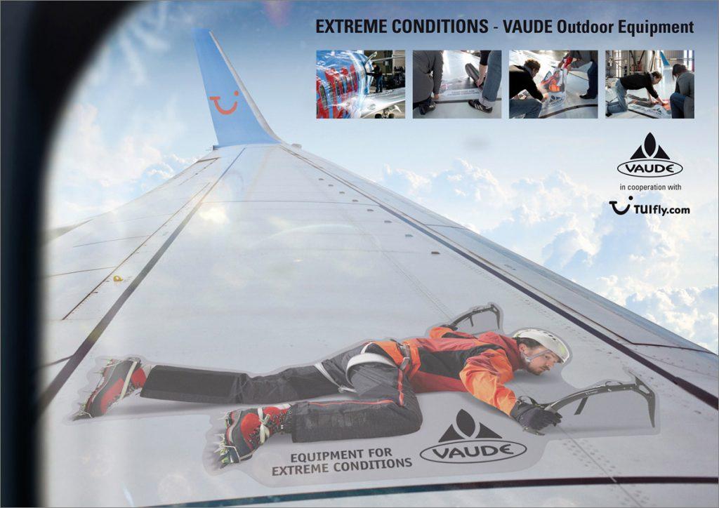 Coole Werbung von Vaude